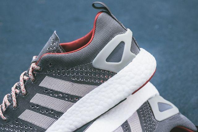 Adidas Primeknit Pureboost Grey 5