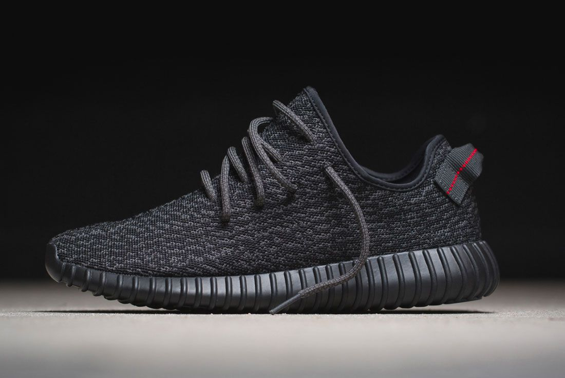 Yeezy Boost 350 Pirate Black Left