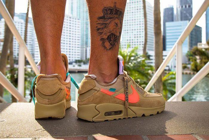 Off White Nike Air Max 90 Ore Sneaker 2
