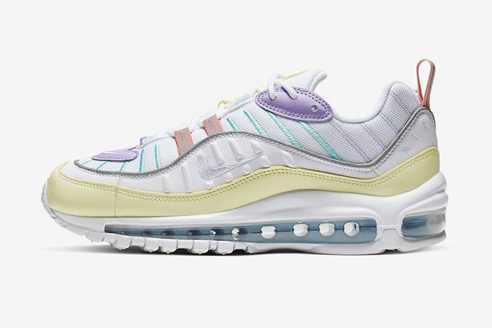 Nike Air Max 98 Ah6799 300 Release Date Lateral