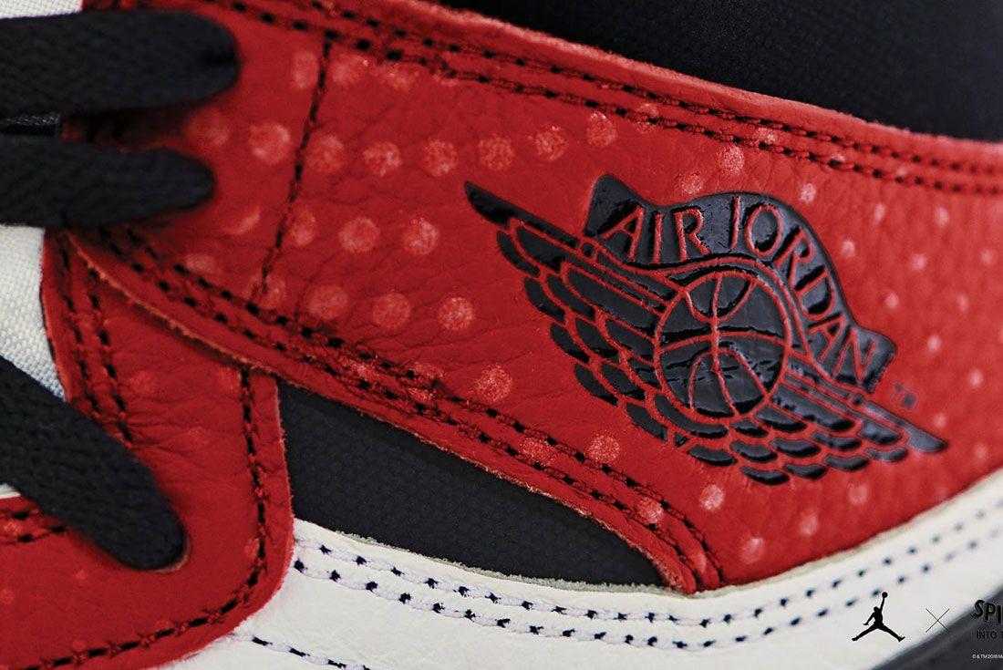 Air Jordan 1 Spider-Man Origin Story