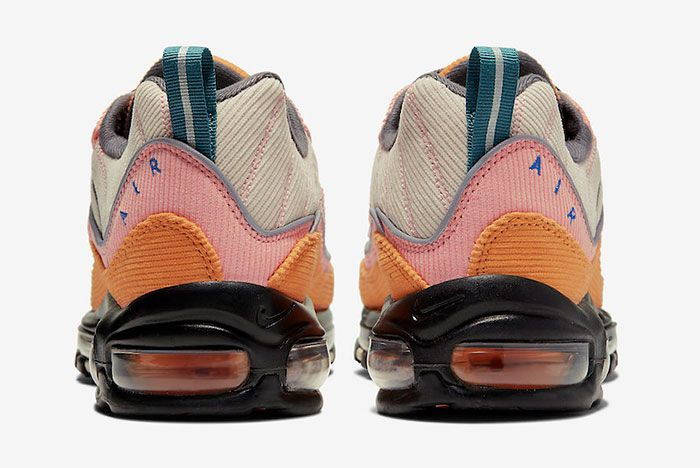Nike Air Max 98 Corduroy Cq7513 814 Release Date 5Heel