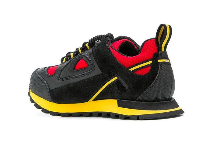 Maison Margiela Twist Up Lace Sneakers Black Yellow Red Release 001 Sneaker Freaker2