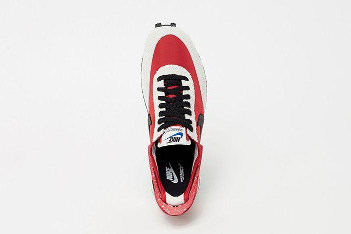 Undercover Nike Daybreak University Red Black Spruce Aura Cj3295 600 Release Date Top Down