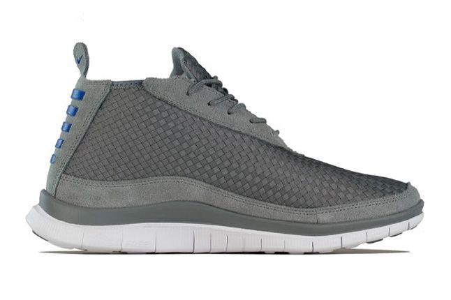 Nike Free Chukka Woven Hyper Blue Side 1