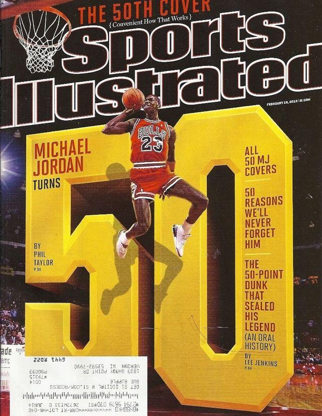 Michael Jordan Sports Illustrated Covers 2