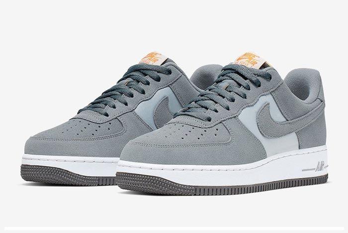 Nike Air Force 1 Cool Grey Pair