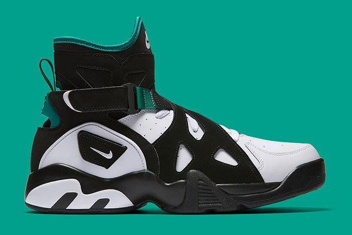 Nike Air Unlimited Retro White Black Emerald 8