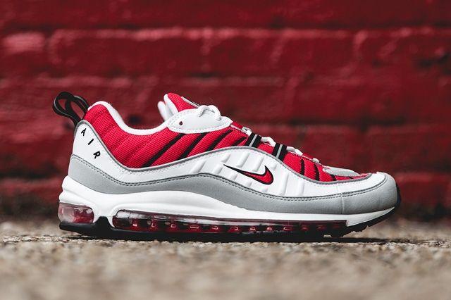 Nike Air Max 98 Uni Red Bump 2