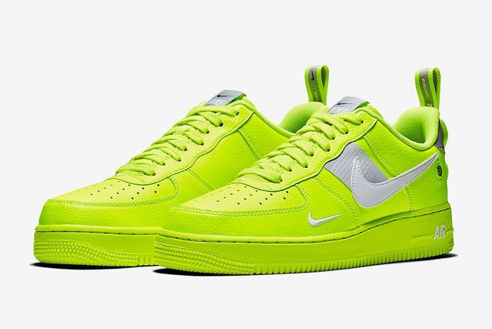 Nike Air Force 1 Utility Volt Aj7747 700 Release Date 4 Sneaker Freaker