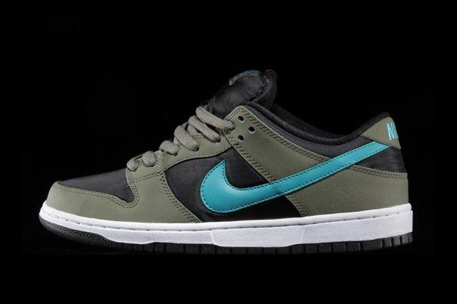 Nike Sb Dunk Low Olive Turbo Green Thumb