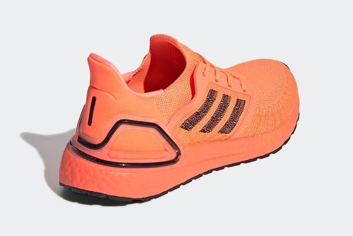 Adidas Ultraboost 2020 Signal Coral Back