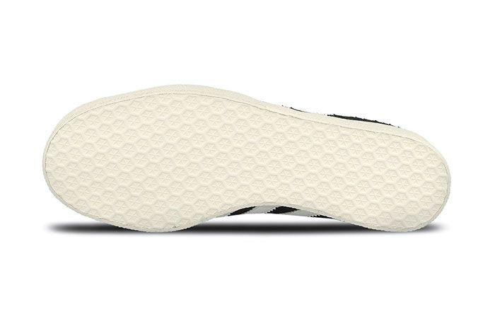 Adidas Gazelle Wmns Core Black Crystal White Chalk White 2