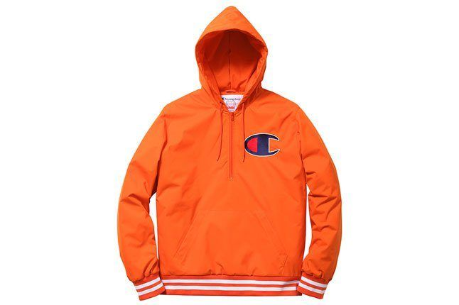 Champion Orange Hoodie 1