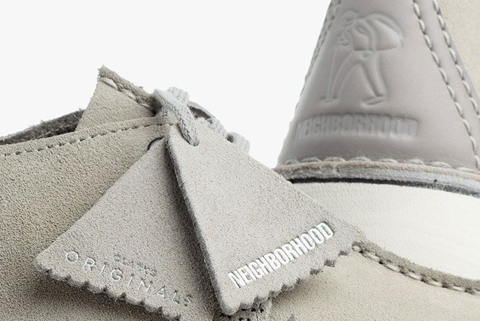 Neighborhood Clarks Desert Trek Tag Detail