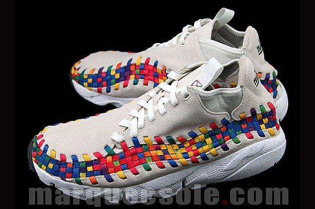 Nike Footscape Woven Chukka Rainbow 4 1