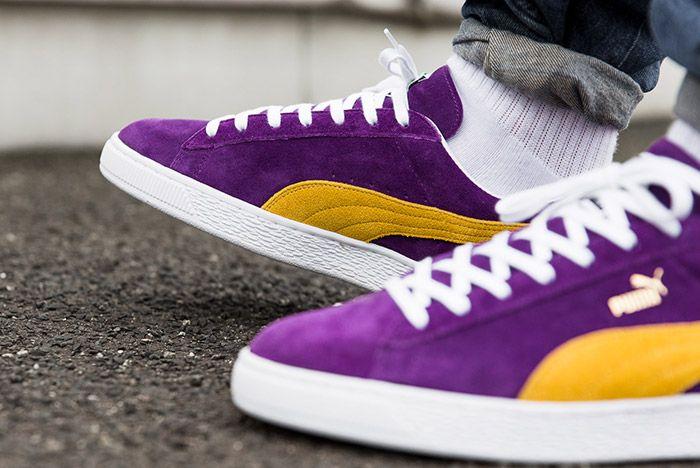 Puma Mij Collectors Suede Purple 1
