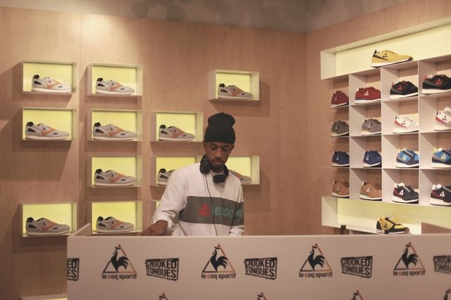 Le Coq Sportif Crooked Tongues Launch 2