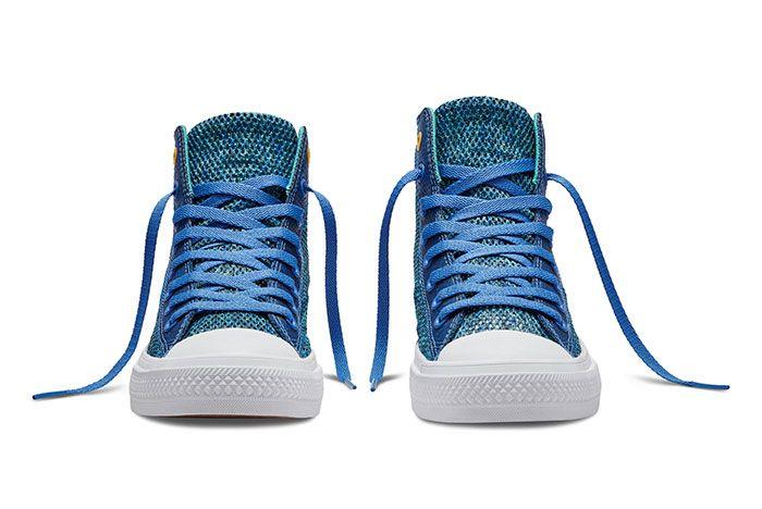 Converse Chuck Taylor All Star High Open Knit Blue 5