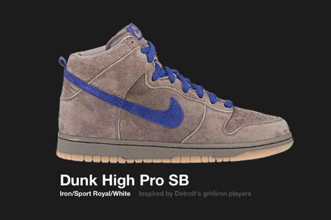 Nike Dunk Hi Sb Detroit 2003 1
