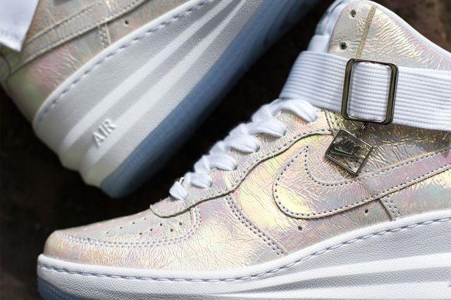 Nike Wmsn Lunar Force 1 Sky Hi Qs Mother Of Pearl 3