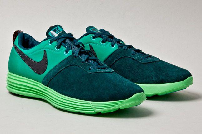 Nike Lunarmtrl Green Pair 1