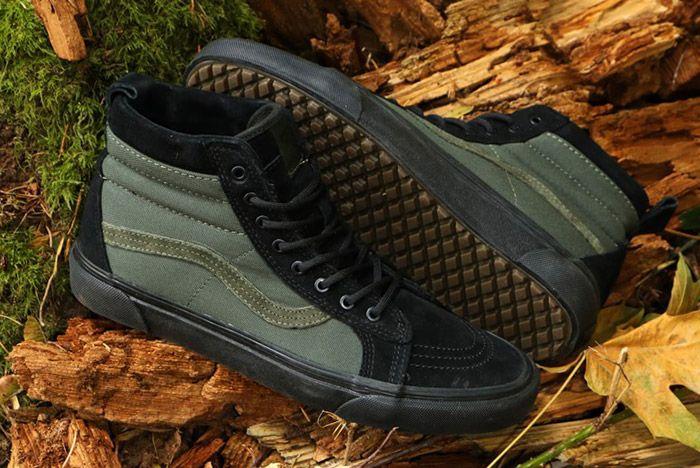 Vans Sk8 Hi Mte Leather Black 2