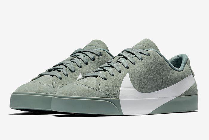 The Nike Blazer City Low Receives an Oversized Swoosh - Sneaker ...