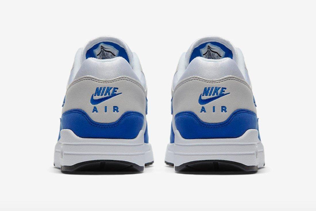 Nike Air Max 1 Og Retro Game Royal Blue 3