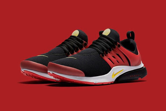 Nike Air Presto Black Red Bred 1
