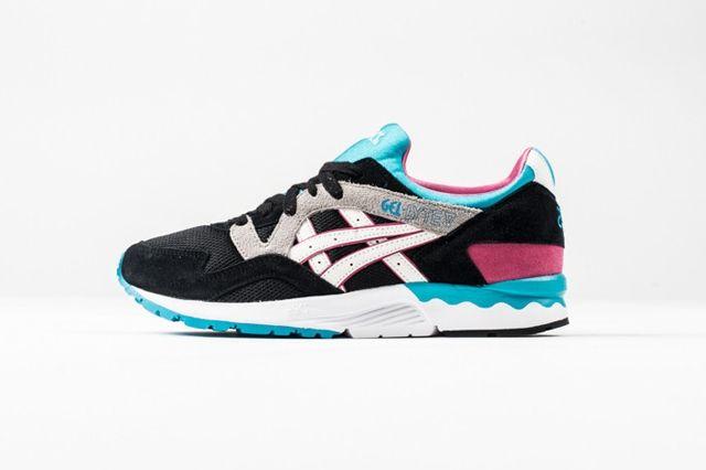Asics Glv Black Pink Blue 3