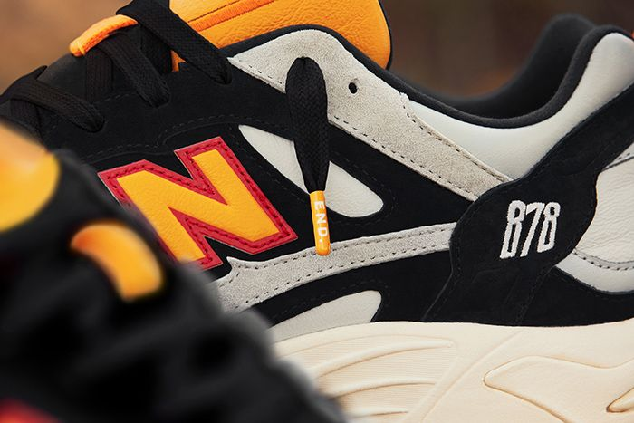 End New Balance 878 Grey Gull Release Date Closeup