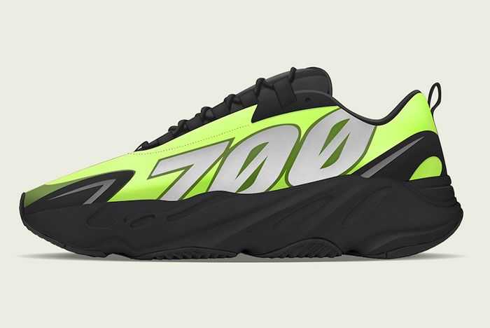 Adidas Yeezy Boost 700 Mnvn Phosphor Left