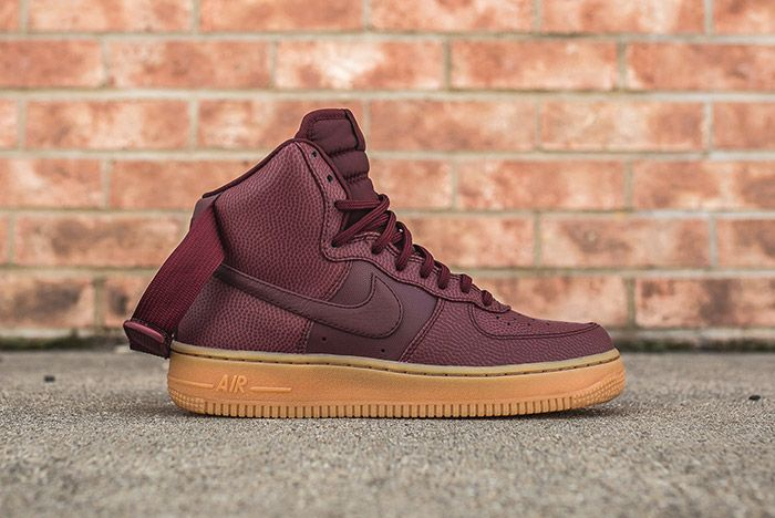 Nike Air Force 1 High Night Maroon Womens 1