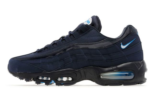 Nike Air Max 95 Blackend Blue Side 1