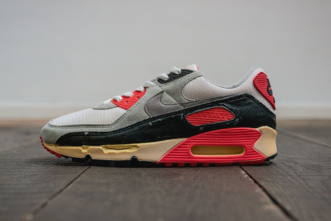 Nike Air Max 90 Infrared Og Old Side Profile