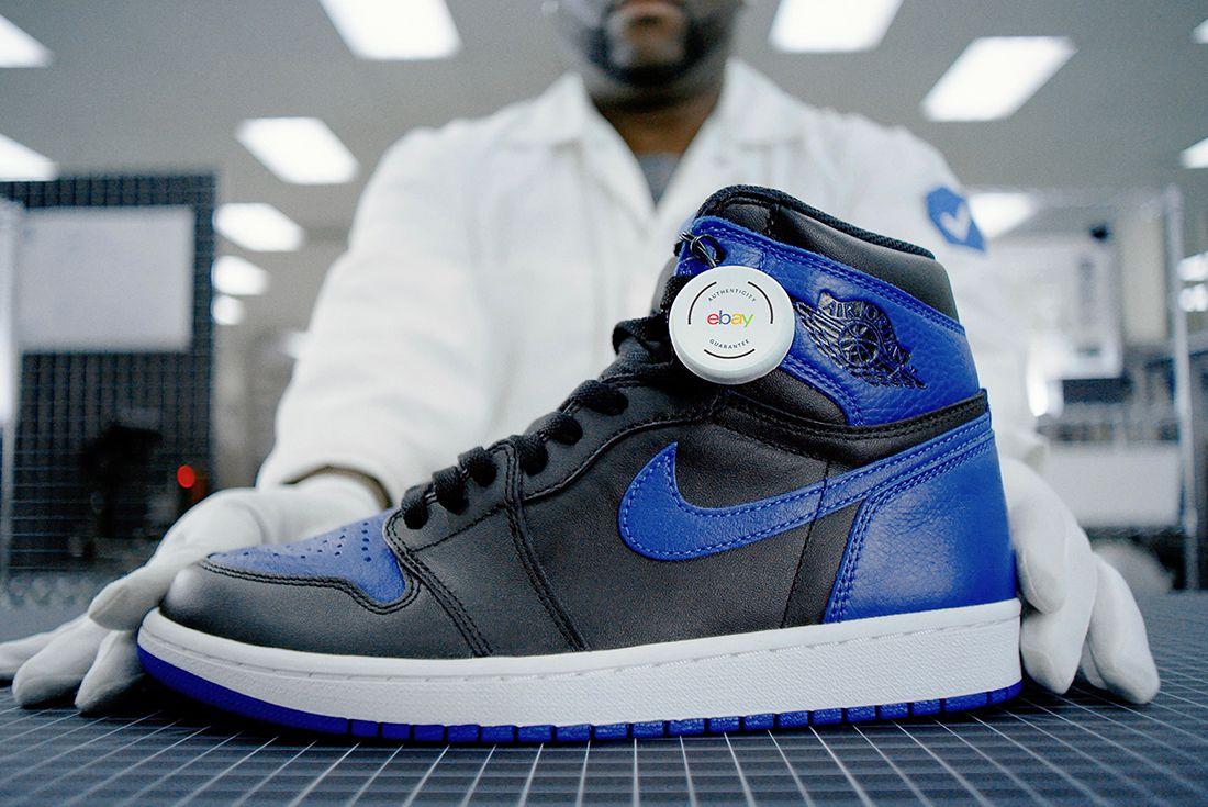 ebay authentication sneaker hero shots