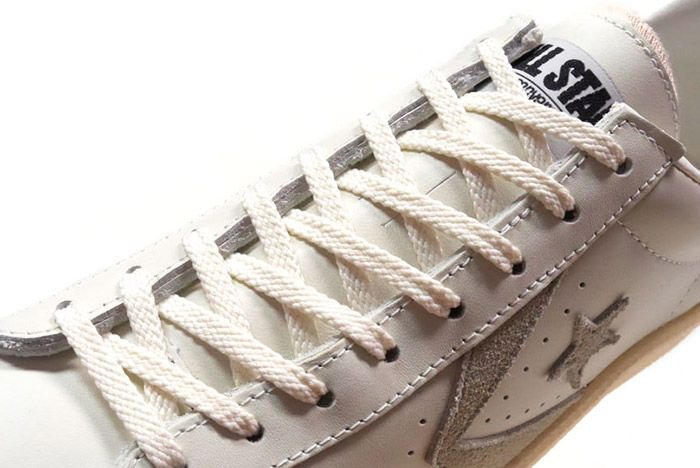 Converse Pro Leather Low 76 Ox Limited Edition White Tan 4