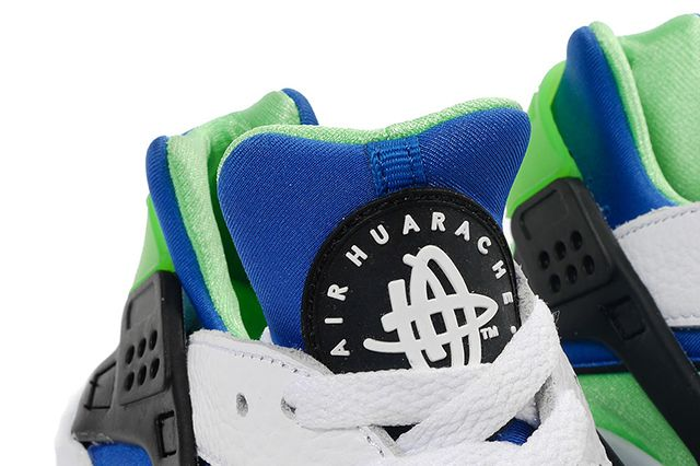 Nike Air Huarache Og Scream Green 2014 Retro 41