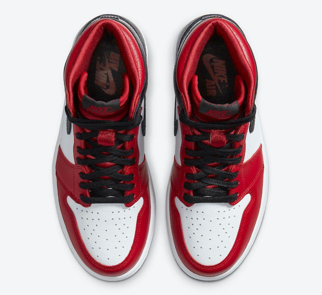Air Jordan 1 Satin Snakeskin Top