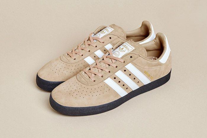 Size Exclusive Adidas 350 Suede Tan Black 1