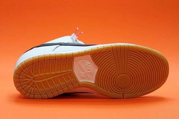 Nike Sb Dunk Low Orange Label White Bottom