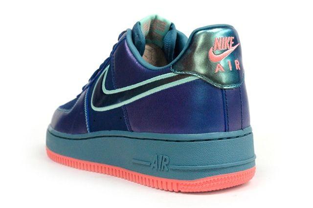 Nike Air Force 1 Blu Sax Orange 5