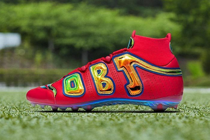Obj Nike Vapor Untouchable Pro 3 Uptempo Bright Lights