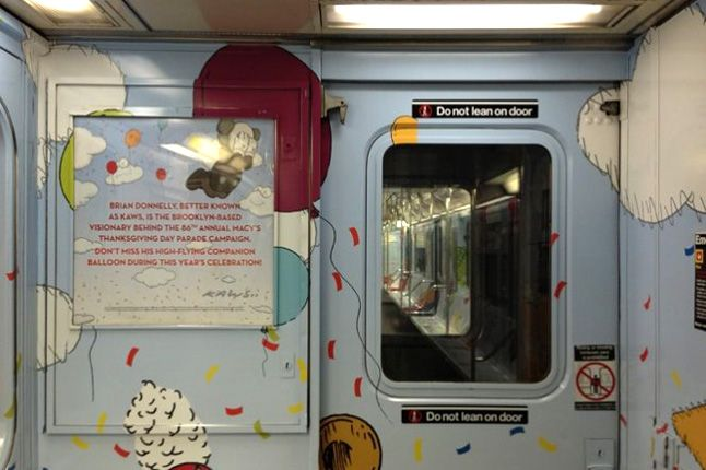 Kaws Nyc Mta Subway Inside Biography 1