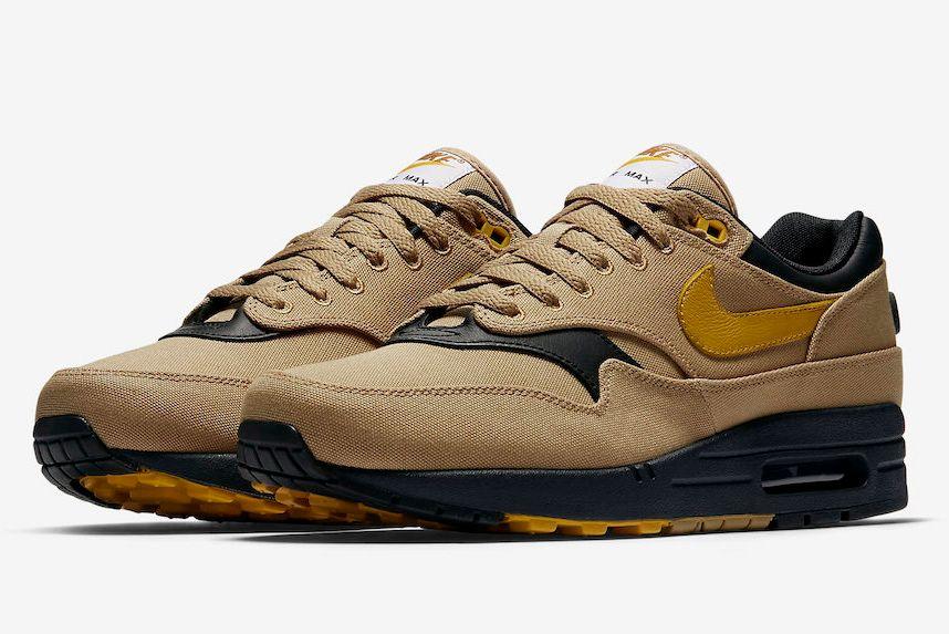 Nike Air Max 1 Premium Elemental Gold 875844 700 4