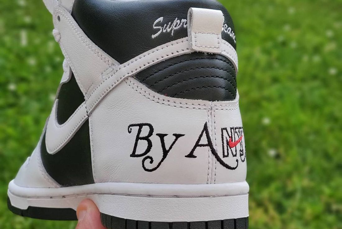 Supreme x Nike SB Dunk High By Any Means