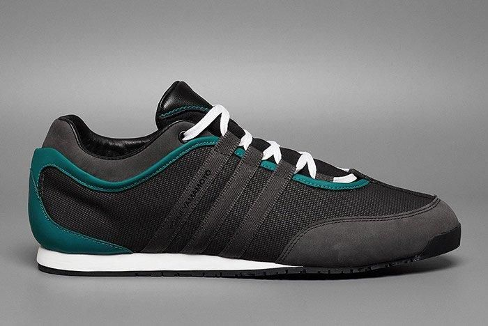 Adidas Y 3 Boxing Charcoal Teal 2