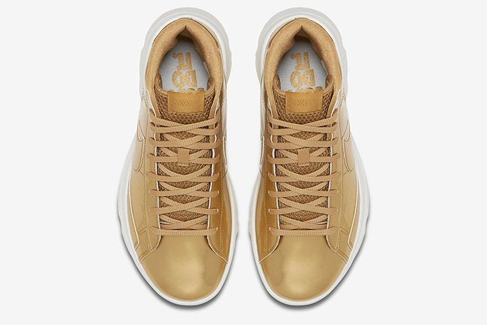 Nike Blazer Golf Metallic Gold Wmns 7