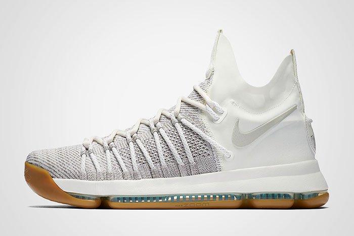 Nike Zoom Kd 9 Elite Ivory Gum Thumb